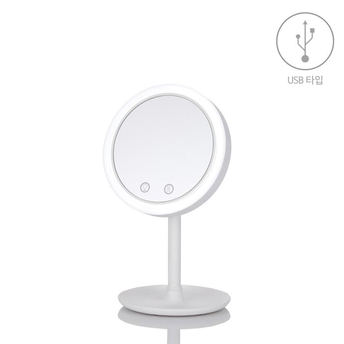 [마이템] LED 바람 메이크업 거울(건전지 타입) GPM-001